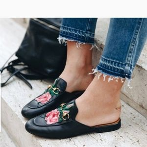Catherine Malandrino Pika flats rose mules size 9